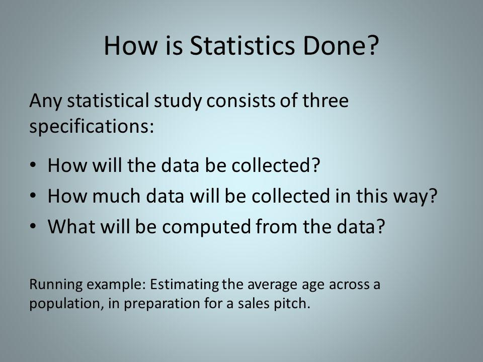 1.How Will the Data be Collected.