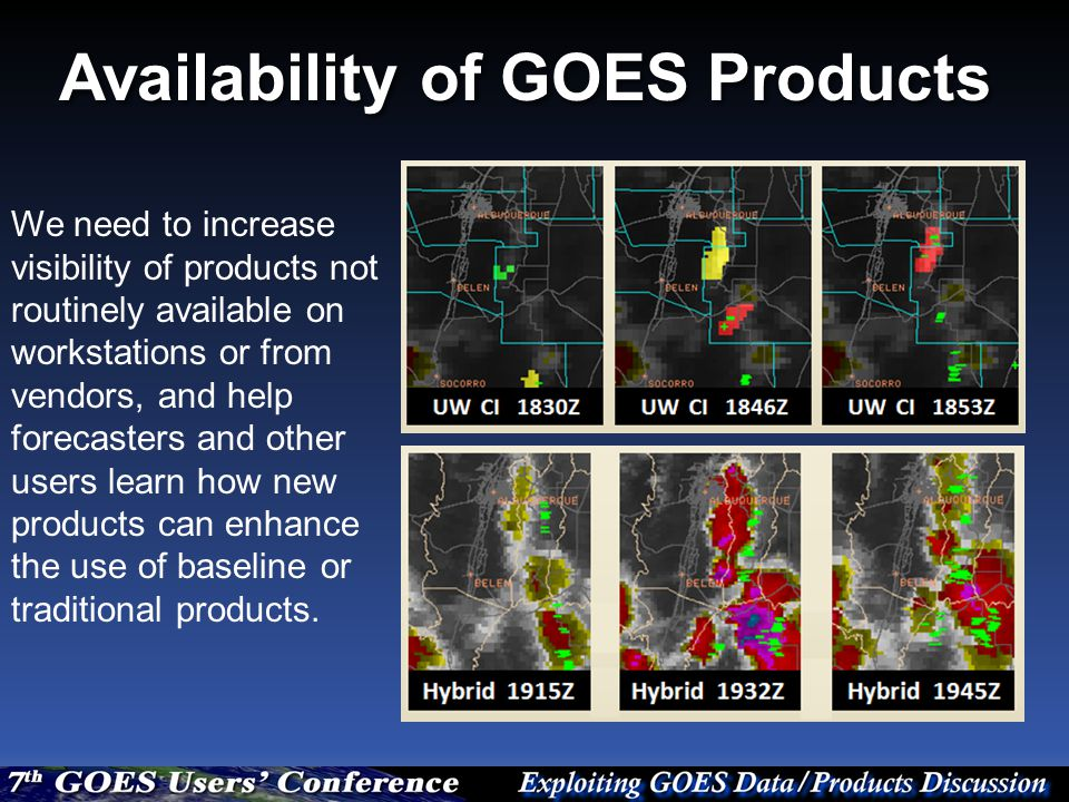 How can the products enhance the skill of forecasts.