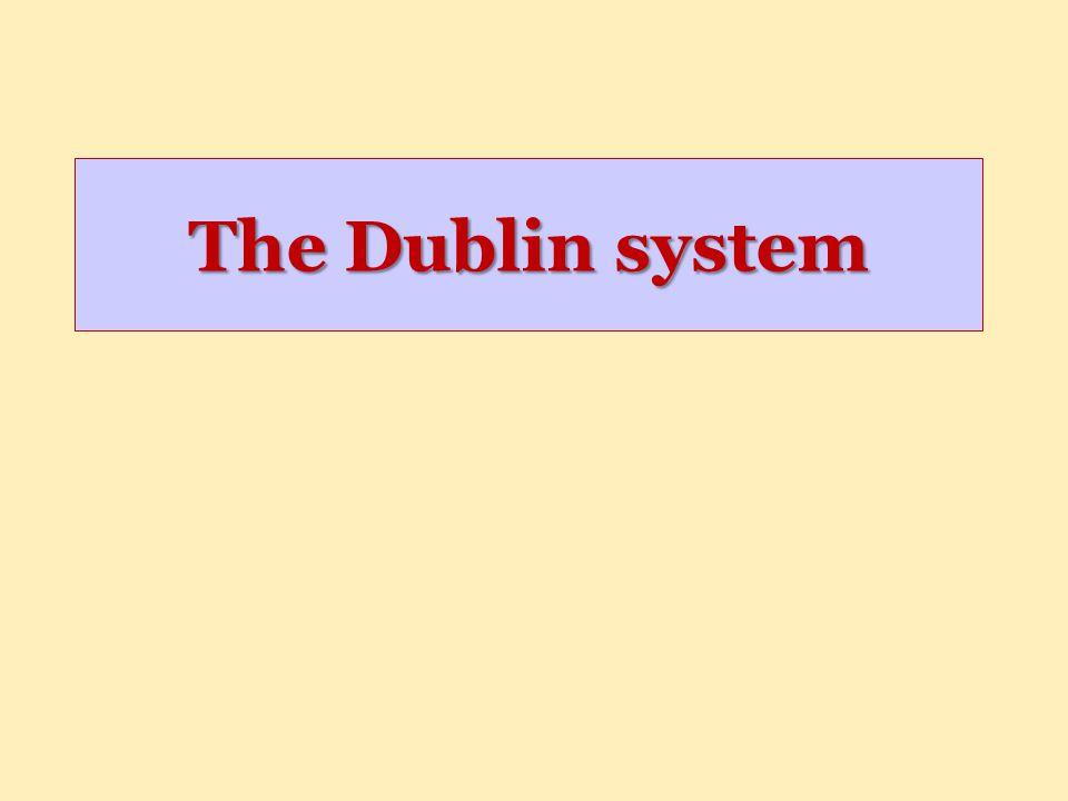 The Dublin system