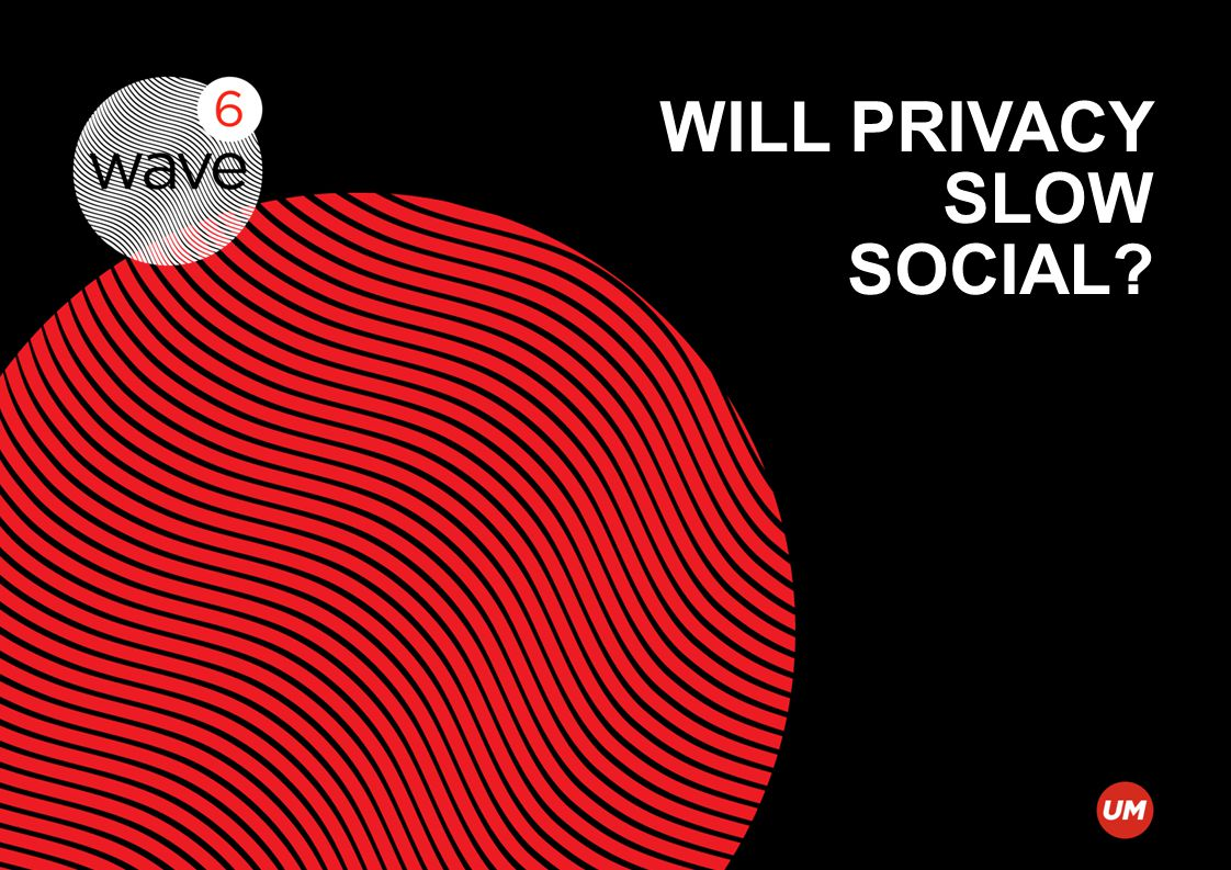 WILL PRIVACY SLOW SOCIAL?