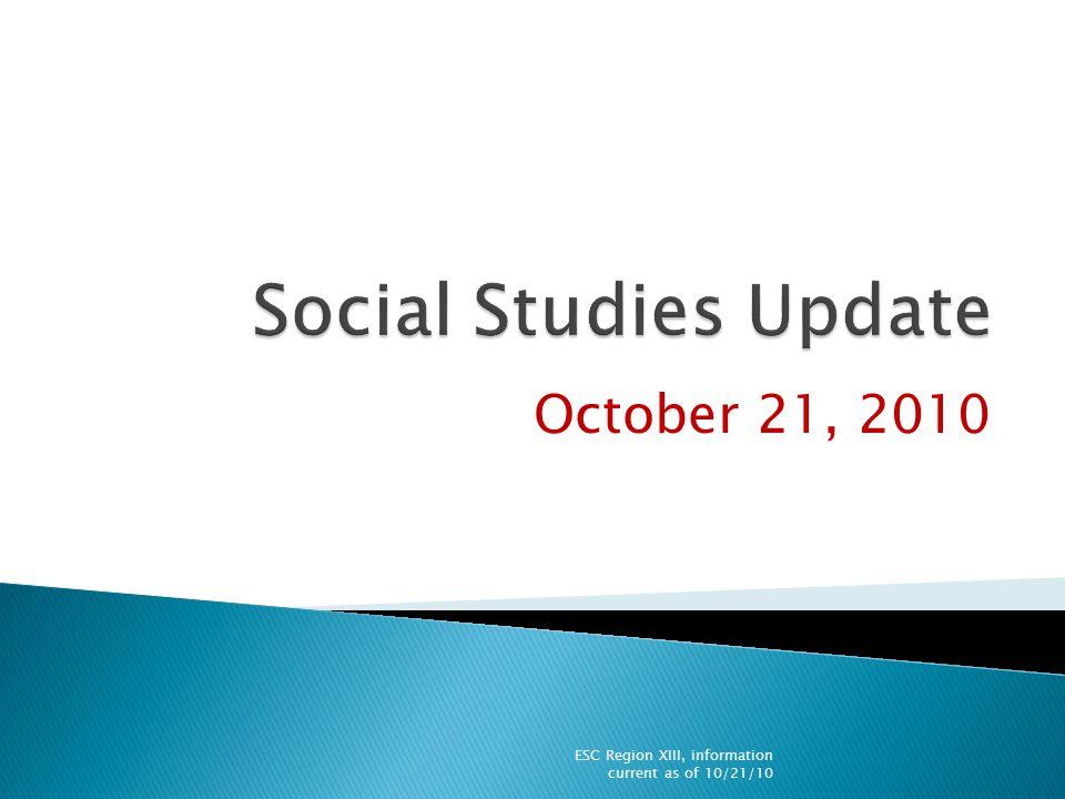  People Matching  KWL  TEKS Update  STAAR Update ESC Region XIII, information current as of 10/21/10