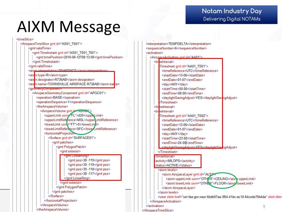 AIXM Message 9