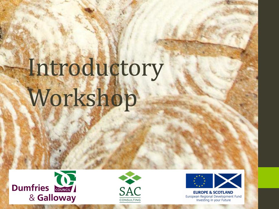 Introductory Workshop