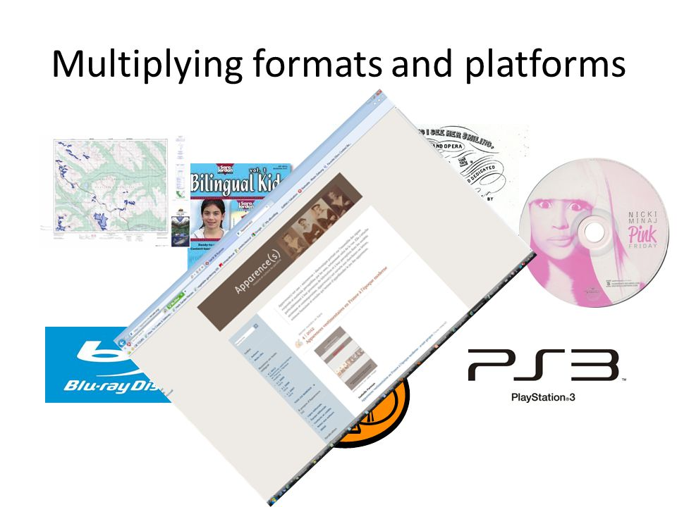 Multiplying formats and platforms