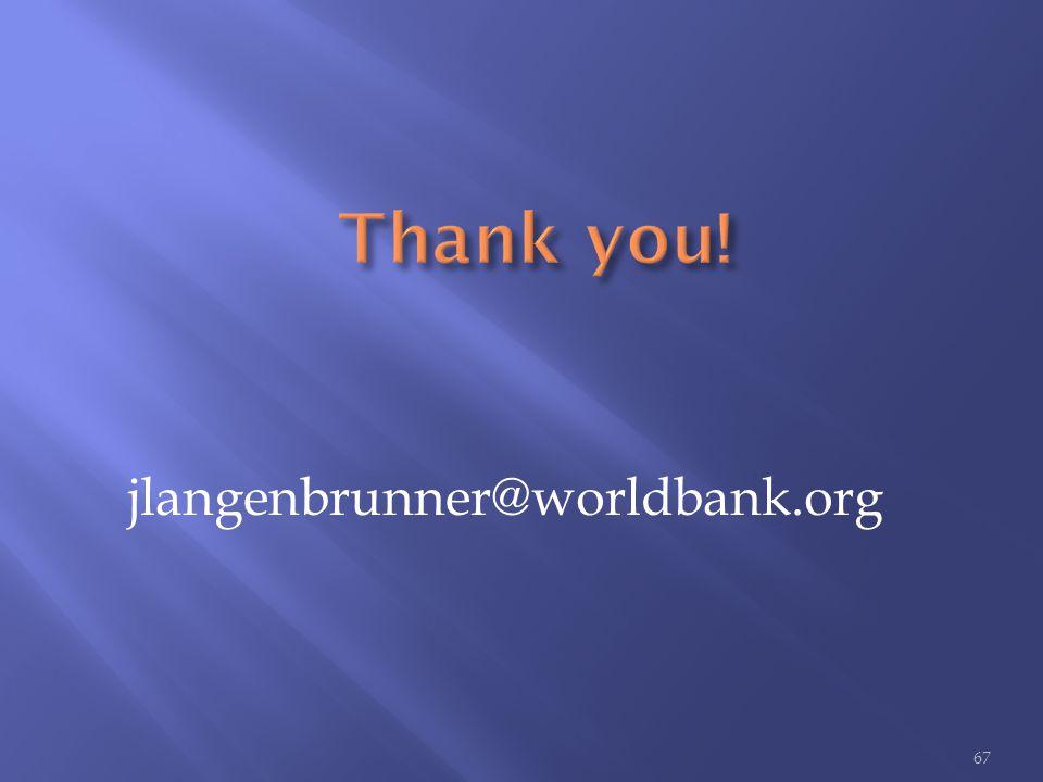 jlangenbrunner@worldbank.org 67