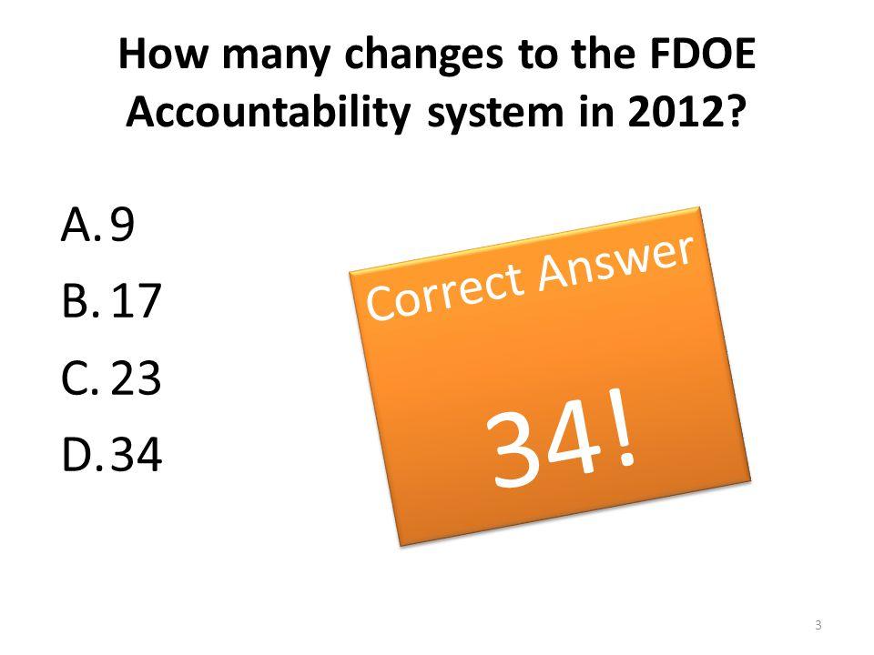 MIDDLE SCHOOL GRADING MATRIX ReadingMathWriting ScienceAcceleration Performance High School EOCs, Industry Certifications (100 points) FCAT 2.0, FAA (100 points) FCAT 2.0, FAA, EOCs (100 points) FCAT, FAA (100 points) FCAT, FAA (100 points) Learning Gains All Students FCAT 2.0, FAA (100 points) FCAT 2.0, FAA EOCs (100 points) Low 25% Learning Gains FCAT 2.0 (100 points) FCAT 2.0 (100 points (300 points) (100 points) 4