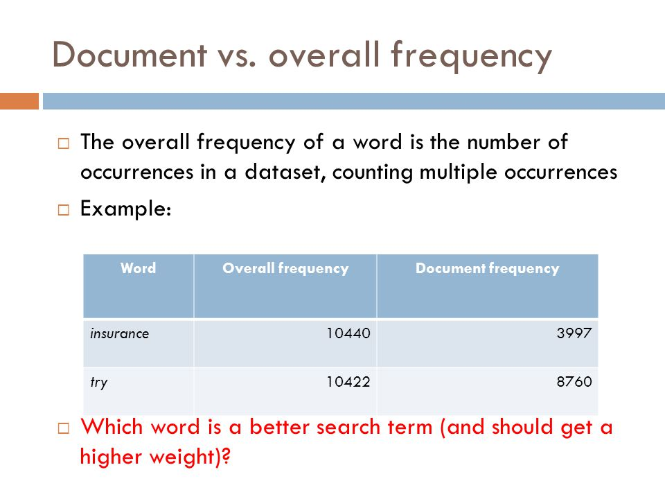 Document vs.