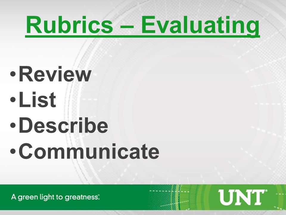 Use of Rubrics for Hiring Employees