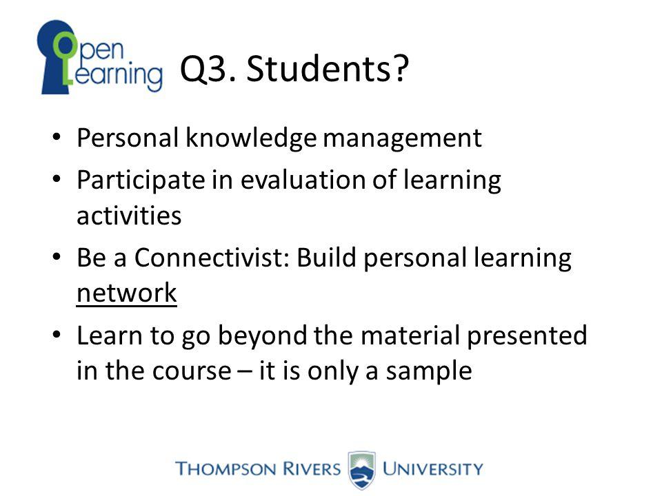 Q3. Students.