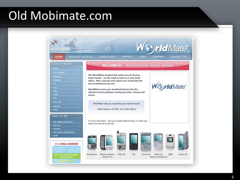 Old Mobimate.com 5