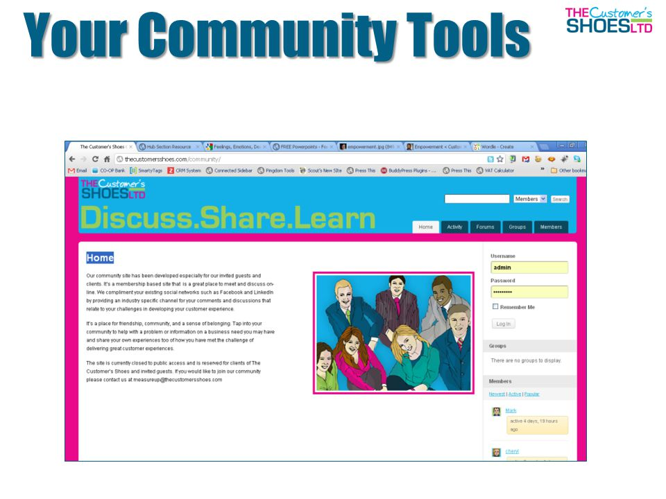 Your Community Tools