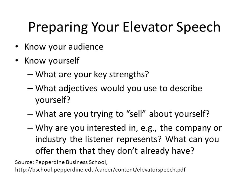 Other Questions to Think About How can you best convey excitement and spark interest.
