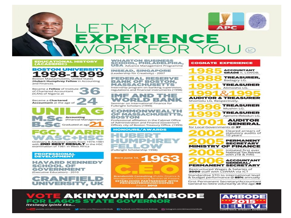 LAGOS GUBERNATORIAL ELECTION ON SATURDAY 11 TH APRIL, 2015 THE NEED TO VOTE FOR LAGOS CAUSE APRIL, 2015 THE NEED TO VOTE FOR LAGOS CAUSE This is the Lagos cause we are placing before you.