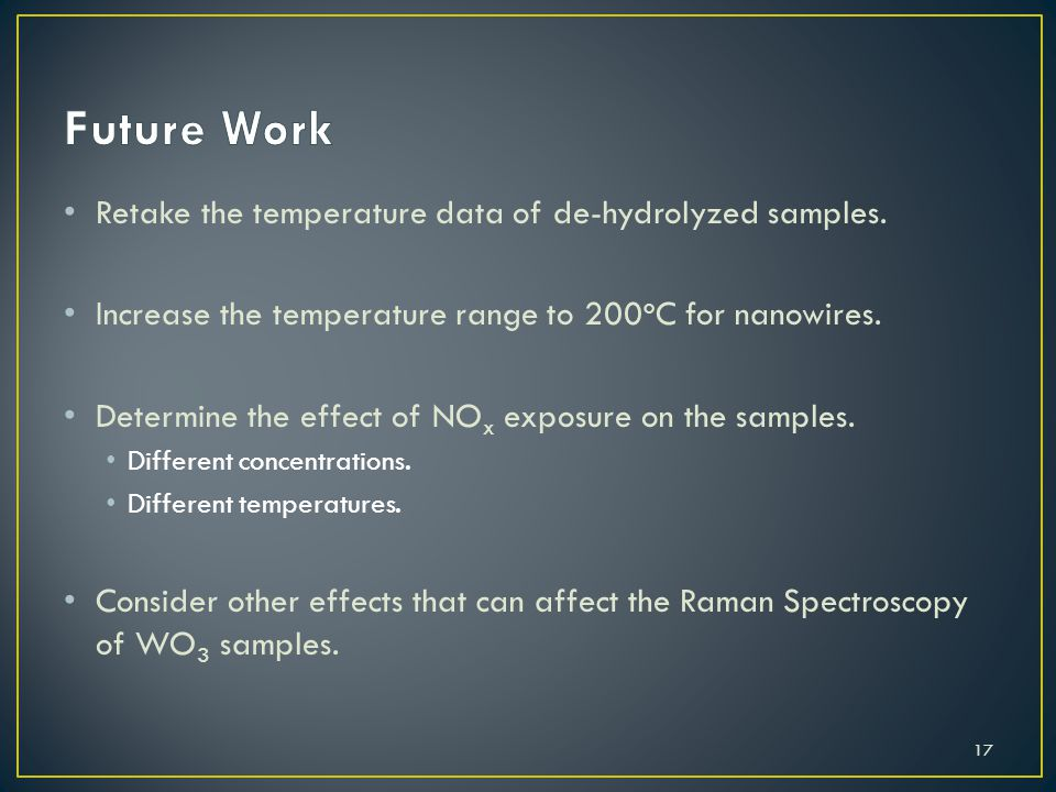 Retake the temperature data of de-hydrolyzed samples.