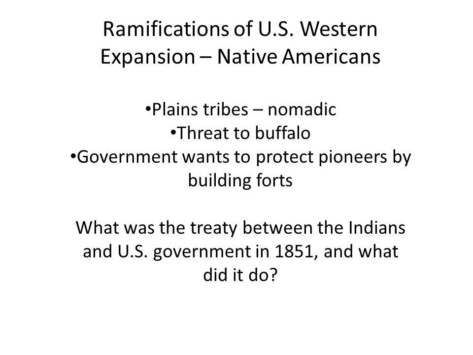 Ramifications of U.S.