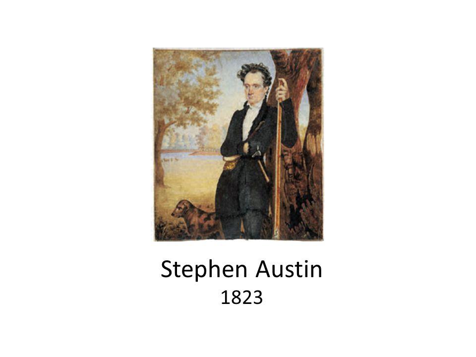 Stephen Austin 1823
