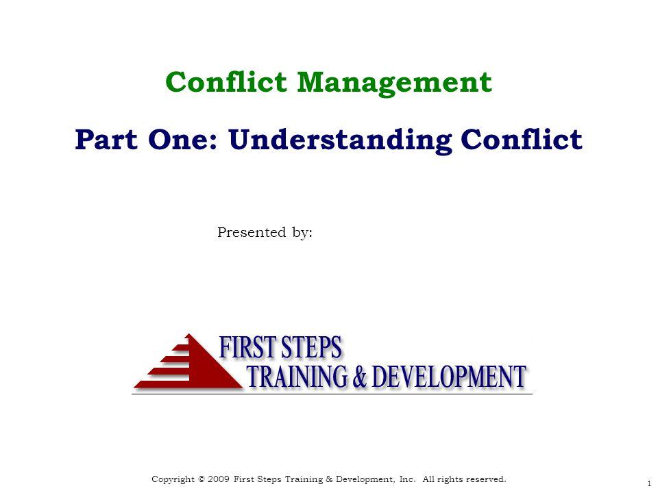 Copyright © 2009 First Steps Training & Development, Inc.
