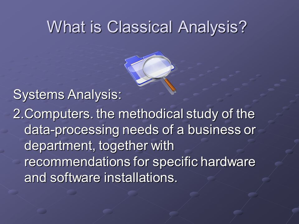Role of the Analyst The analyst is the liaison between the user and the development team.