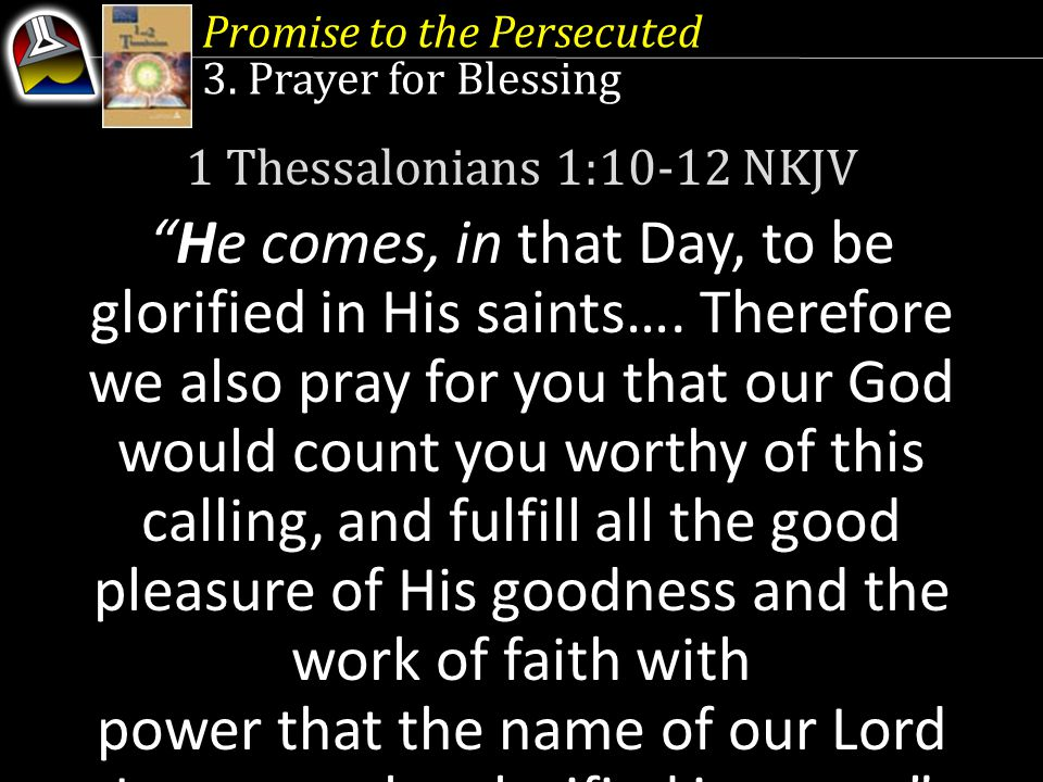Promise to the Persecuted 3.