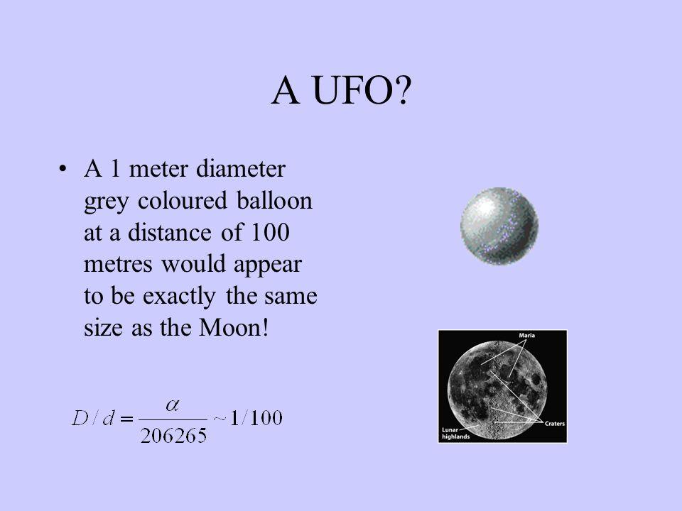 A UFO.
