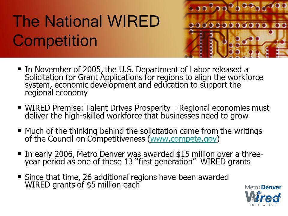  In November of 2005, the U.S.