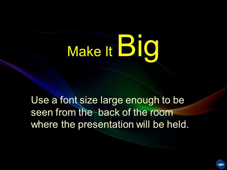 PREPARE SimpleConsistent Clear Big Progressive