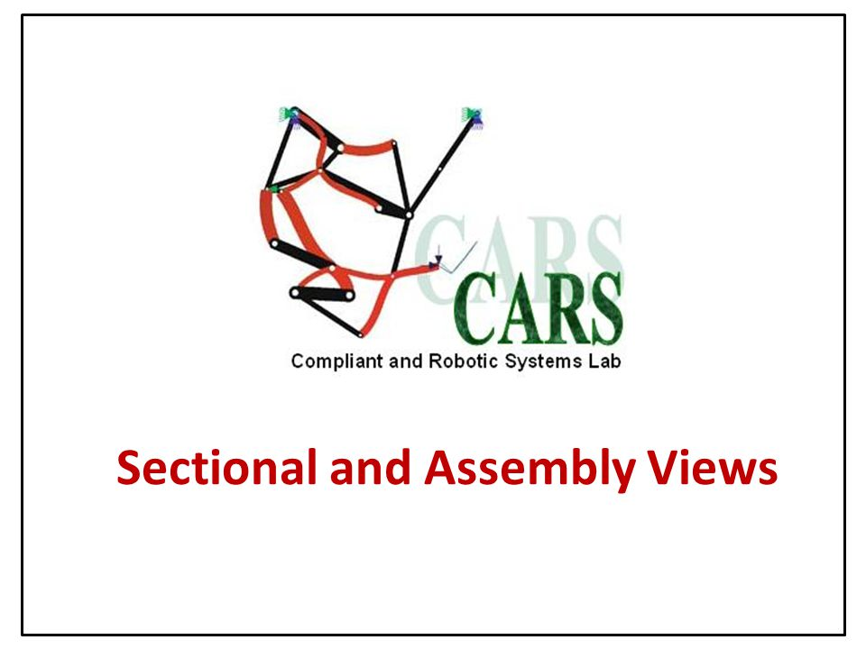 Sectional and Assembly Views