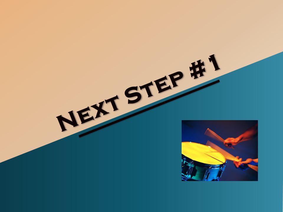 Next Step #1