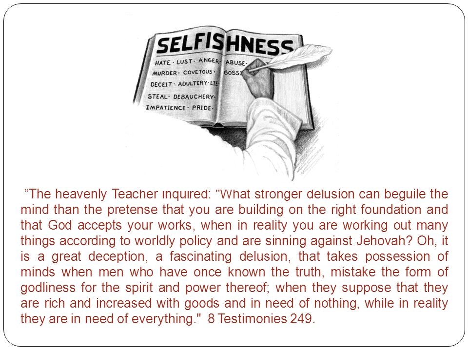 """""""The heavenly Teacher inquired:"""