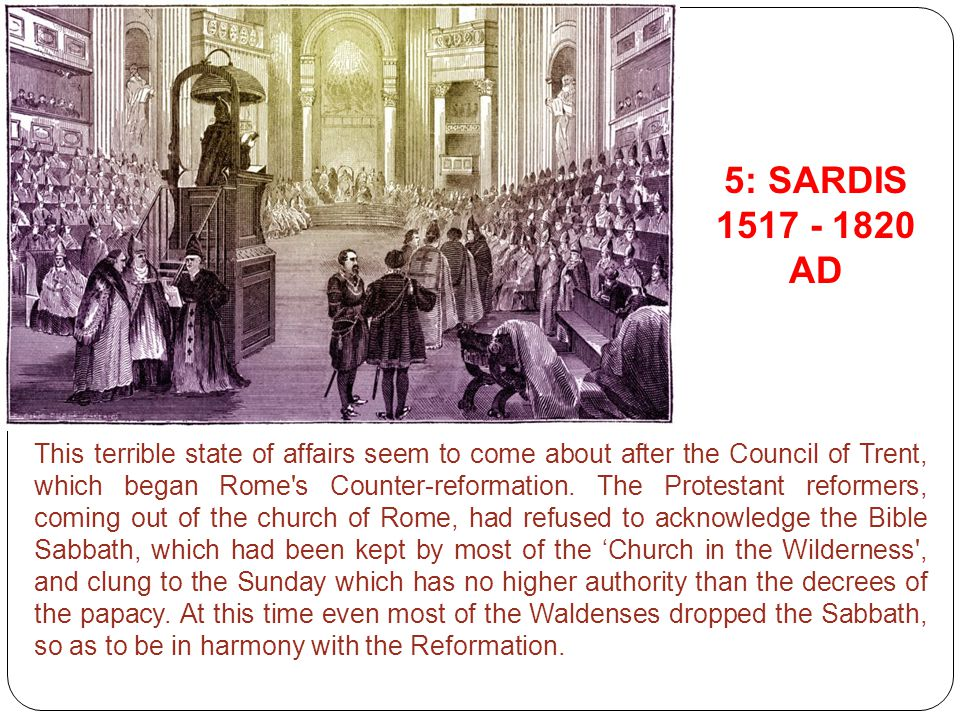 This terrible state of affairs seem to come about after the Council of Trent, which began Rome's Counter-reformation. The Protestant reformers, coming