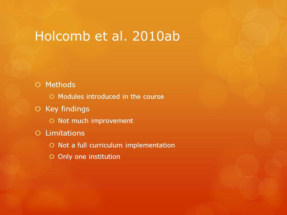 Holcomb et al.