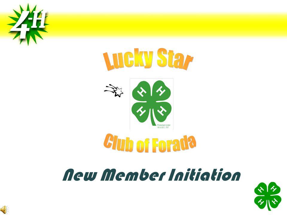 New Member Initiation