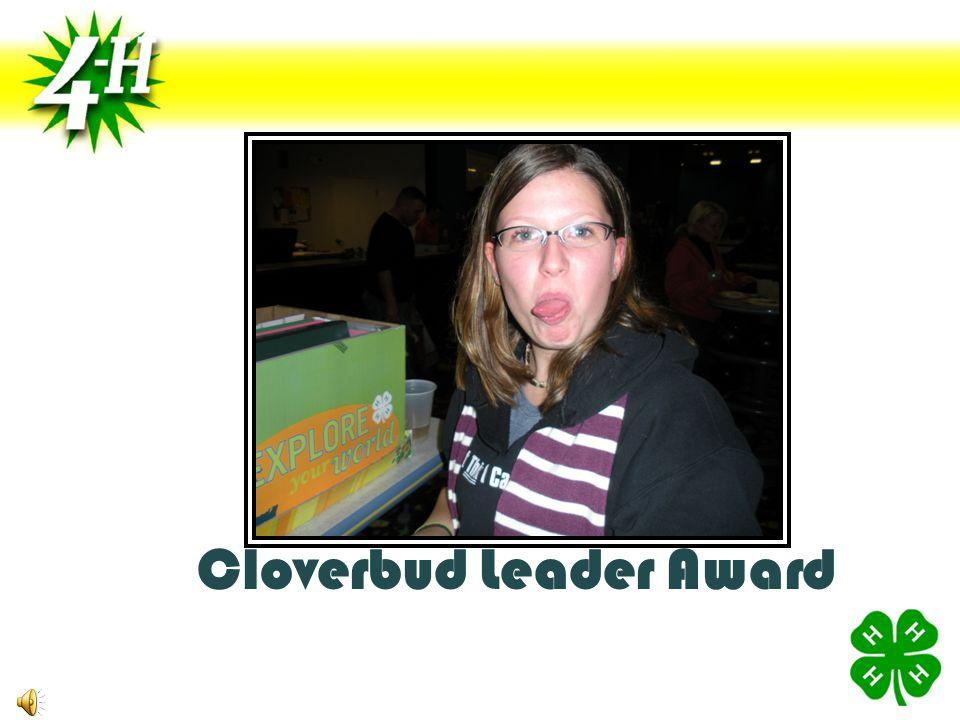 Cloverbud Leader Award
