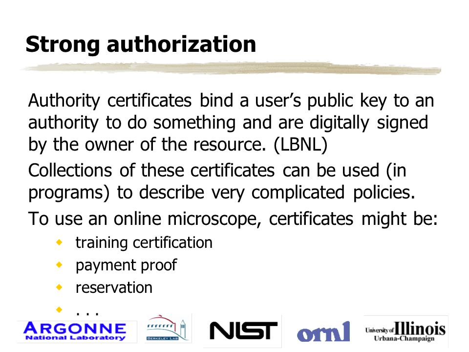 MMC application zSecure a Web-based prototype  Client and server certificates — authentication wSSL encryption wHost data protection via directory access zUse the Entrust security context to wEncrypt communication channels wCreate secure control applications wCreate certificate issuing programs zCreate a security services engine