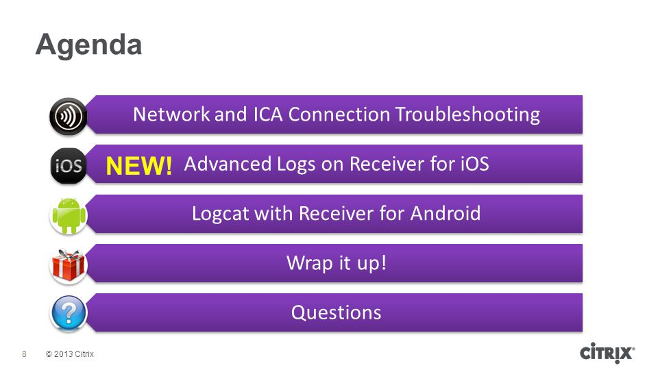 Network and ICA Connection Troubleshooting