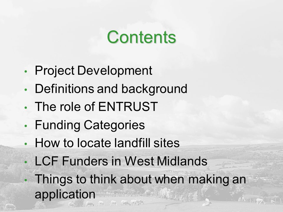 Trust Funding Around 9,370 trusts in UK Reduction of approx 20% funding since 2008 Varying modes of application and levels of response – be patient.