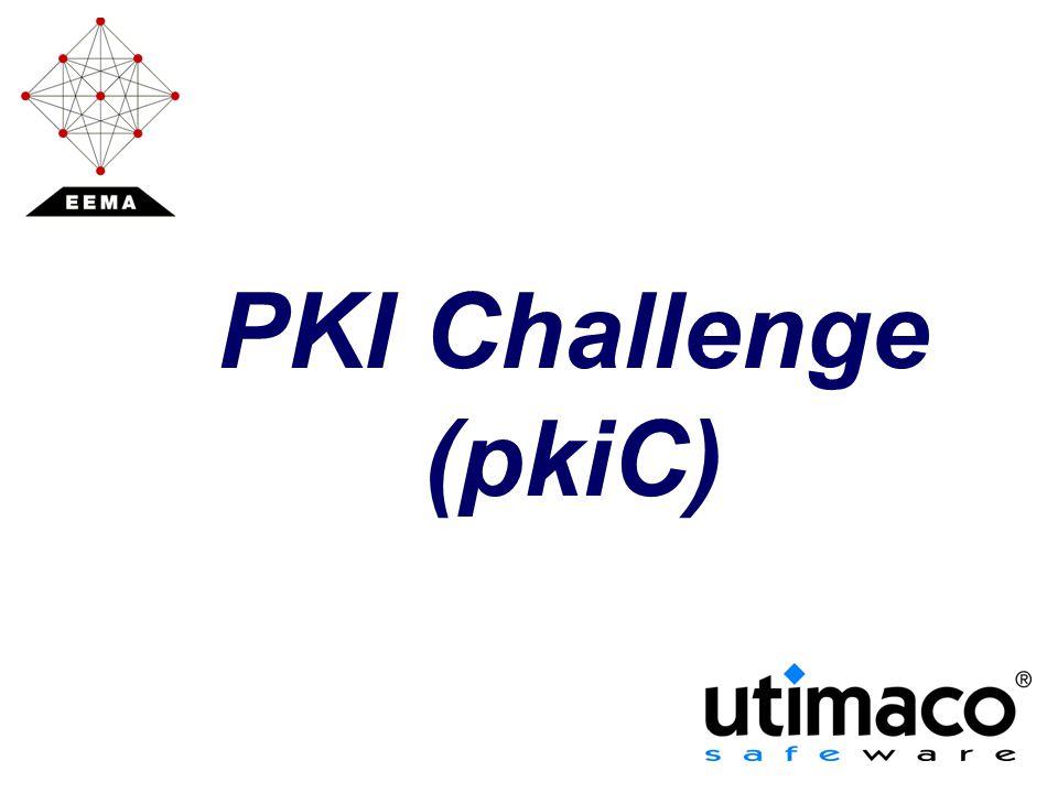PKI Challenge (pkiC)