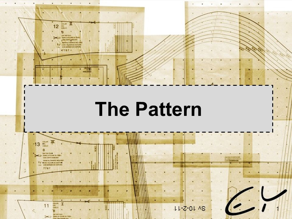 The Pattern Sv 10-2-11 1