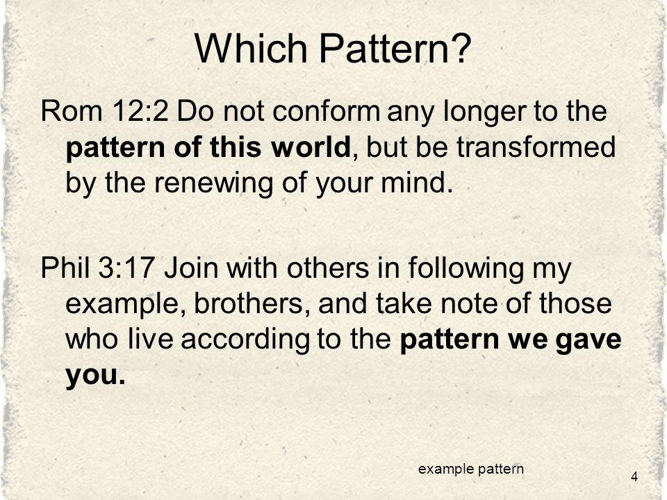 Which Pattern.