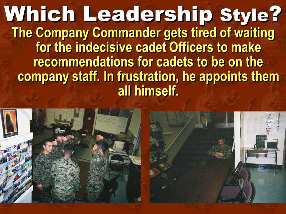 Which Leadership Style .