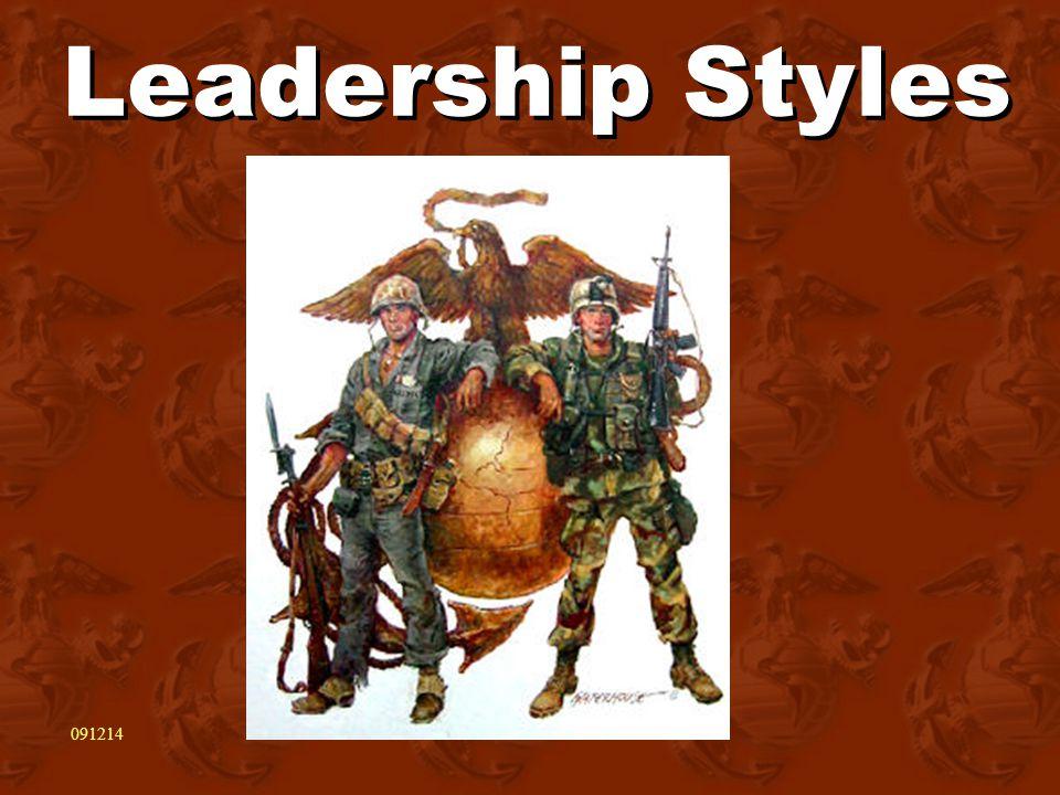 Leadership Styles 091214