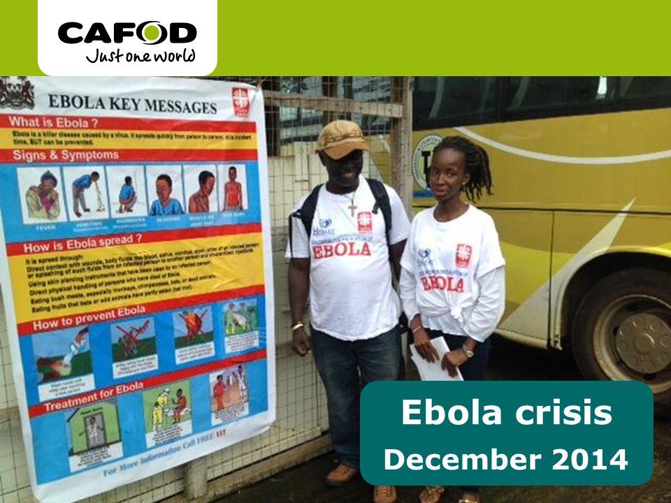 Ebola crisis December 2014