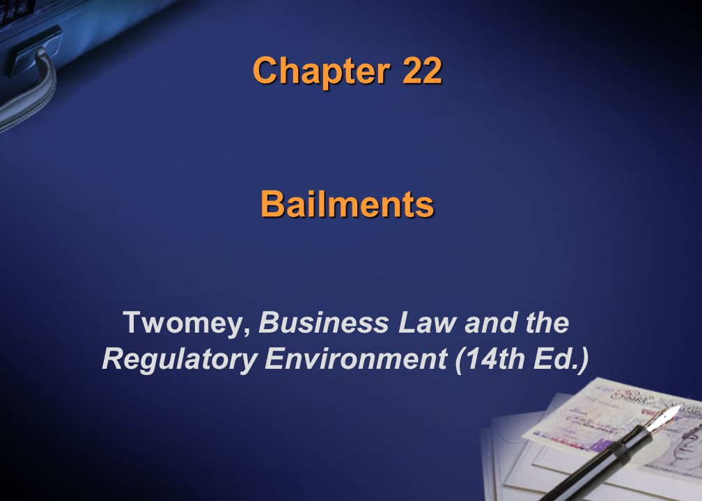 (c) 2000 West Legal Studies Chapter 222 Definitions [22-1] Bail Bail v.