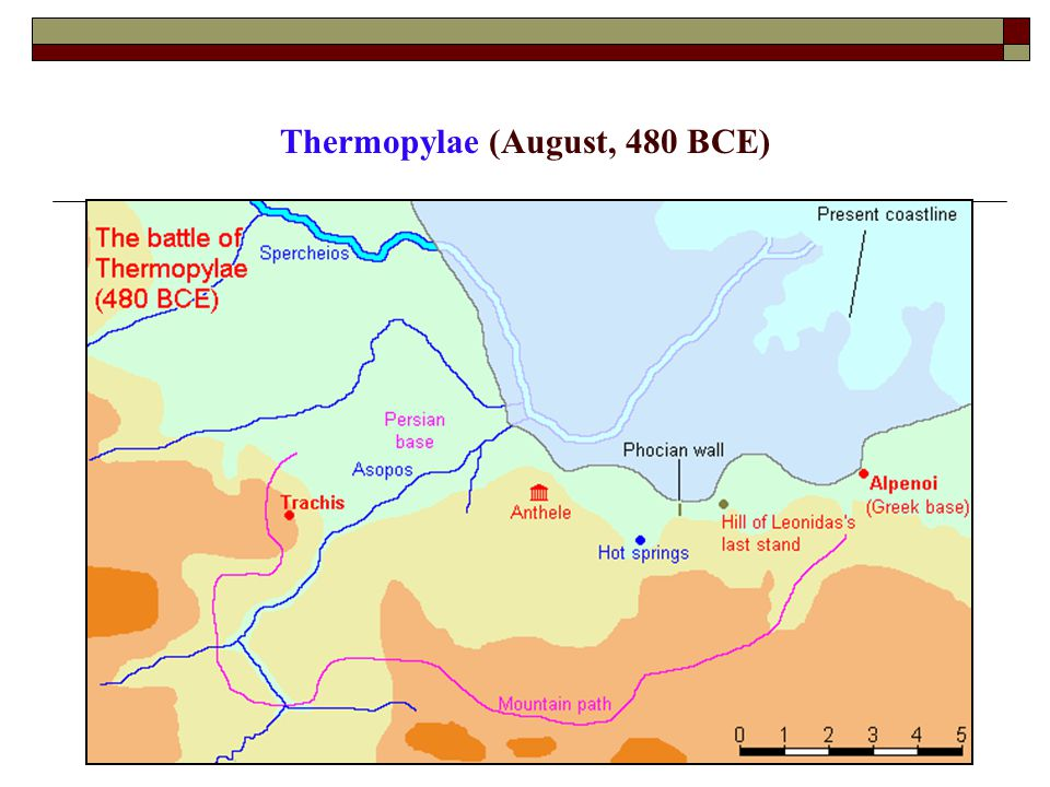 Thermopylae (August, 480 BCE)