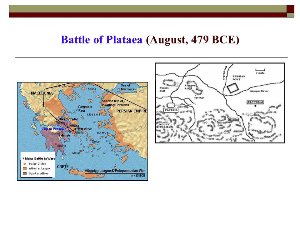 Battle of Plataea (August, 479 BCE)