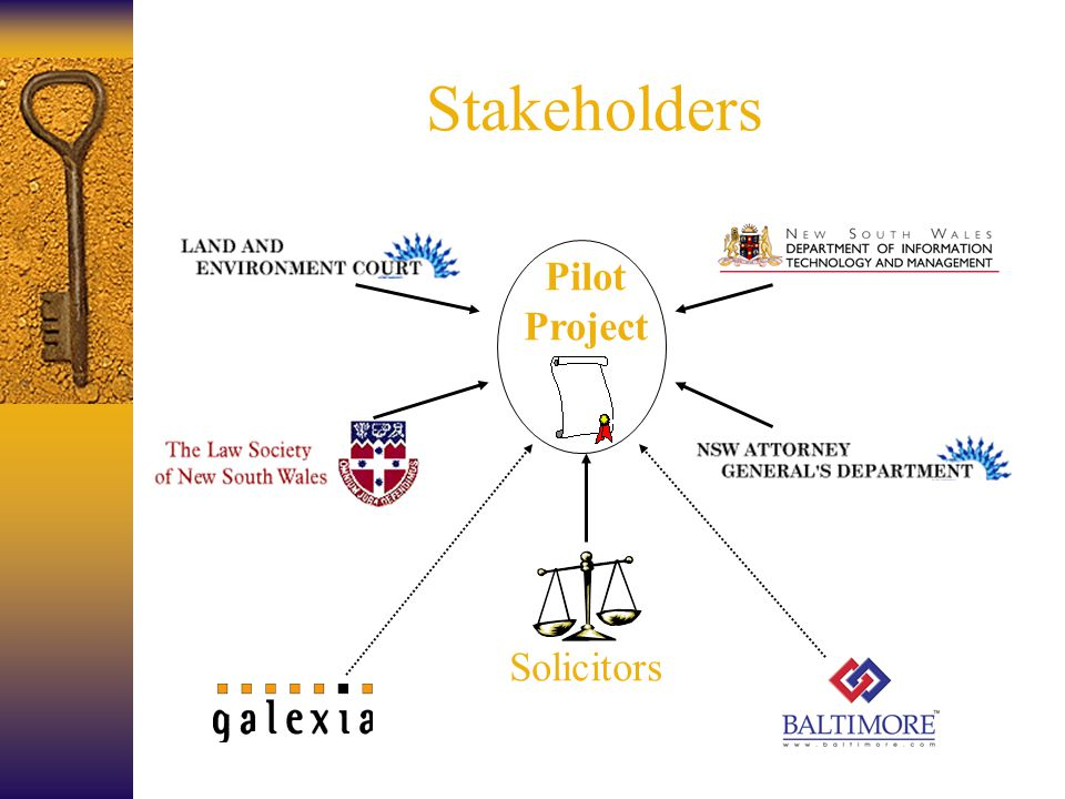 Stakeholders Pilot Project Solicitors
