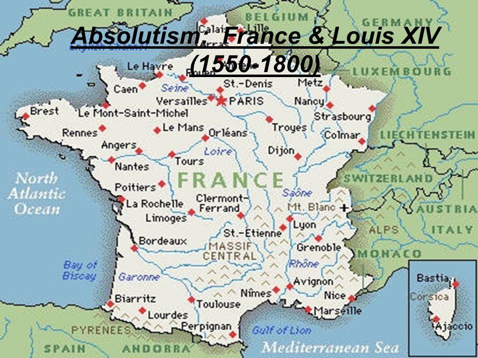 I.Rebuilding France Religious wars huguenots (Bourbons) vs.