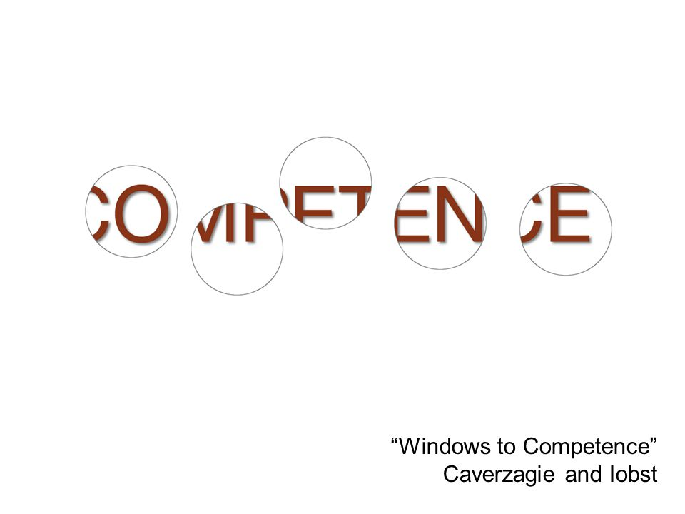 32 Windows to Competence Caverzagie and Iobst