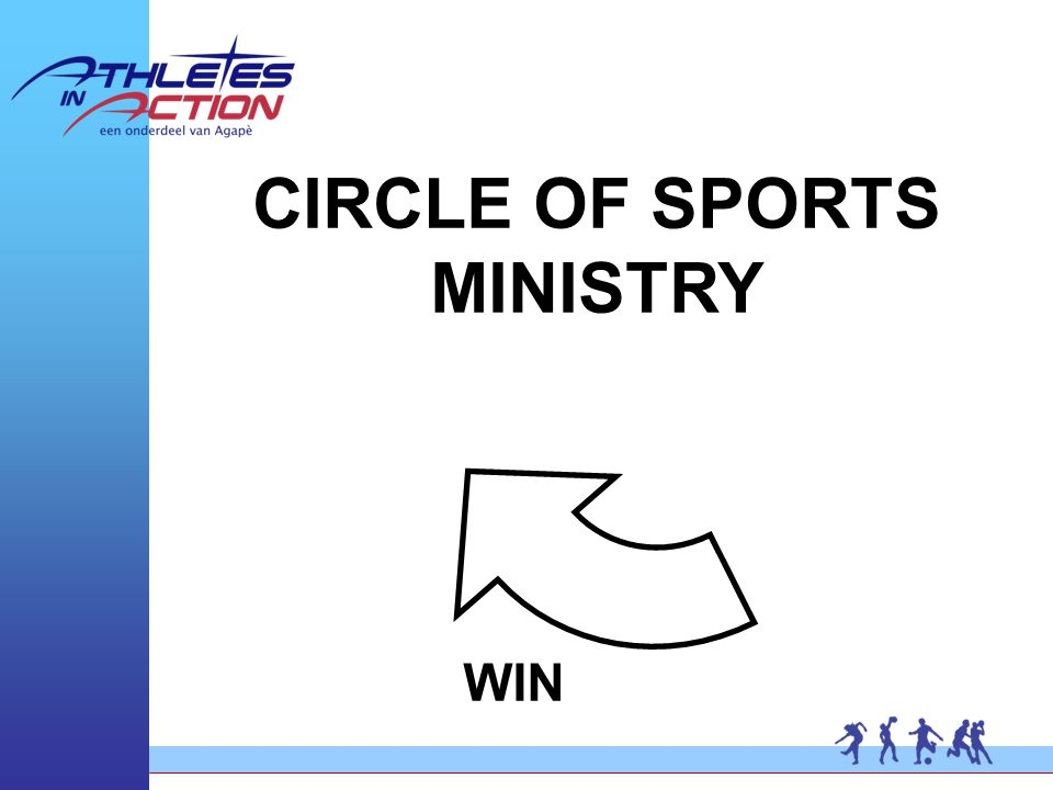 CIRCLE OF SPORTS MINISTRY WIN