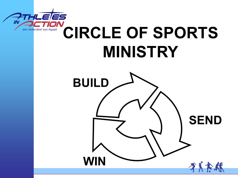 CIRCLE OF SPORTS MINISTRY WIN BUILD SEND
